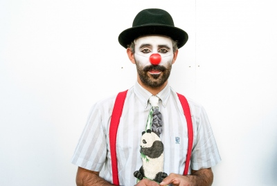Daniel Hernandez, Dr Clive's Circus. Press shot.