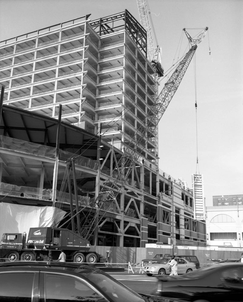 Construction of Atlantic Terminal, June 2003