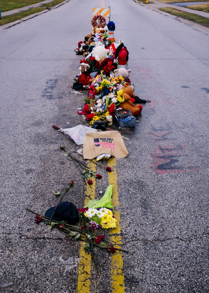 Site of the Shooting Ferguson, September 2014