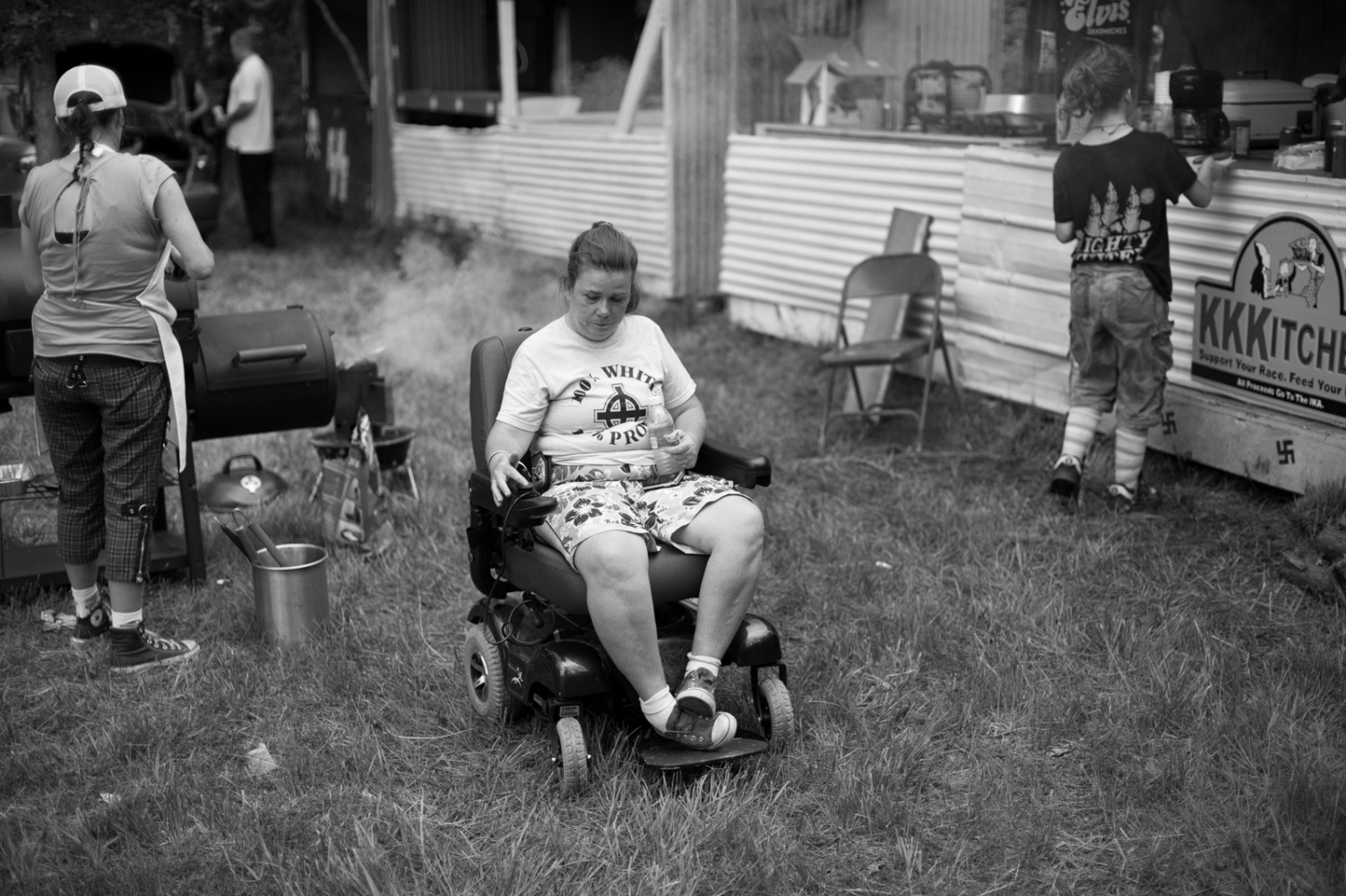 Kentucky.A Klan hostedMemorial Day weekend cookout at a former 15-acre paramilitary compoud.