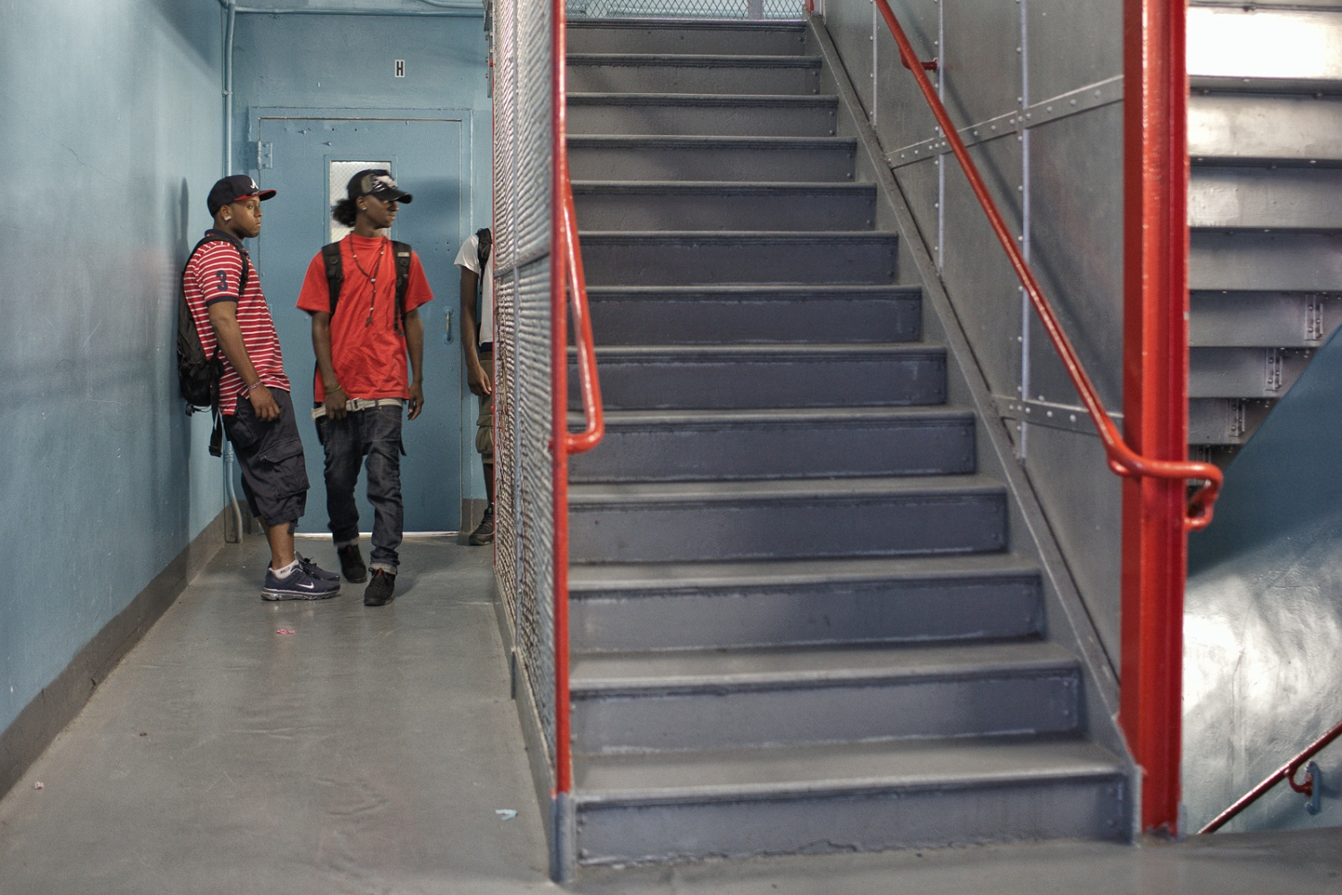 Art and Documentary Photography - Loading goodKids_boysStairwell.jpg
