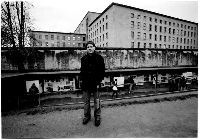 Drummer Henry Cole, Berlin, 2008.