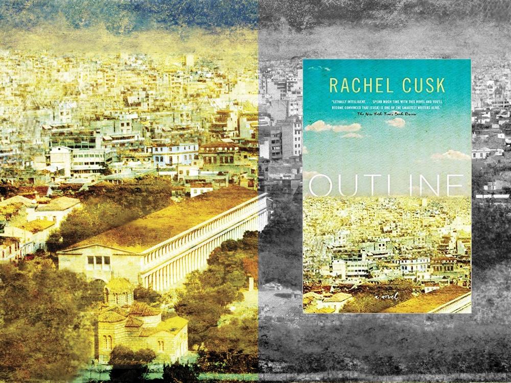 book cover outline rachel cusk publication...