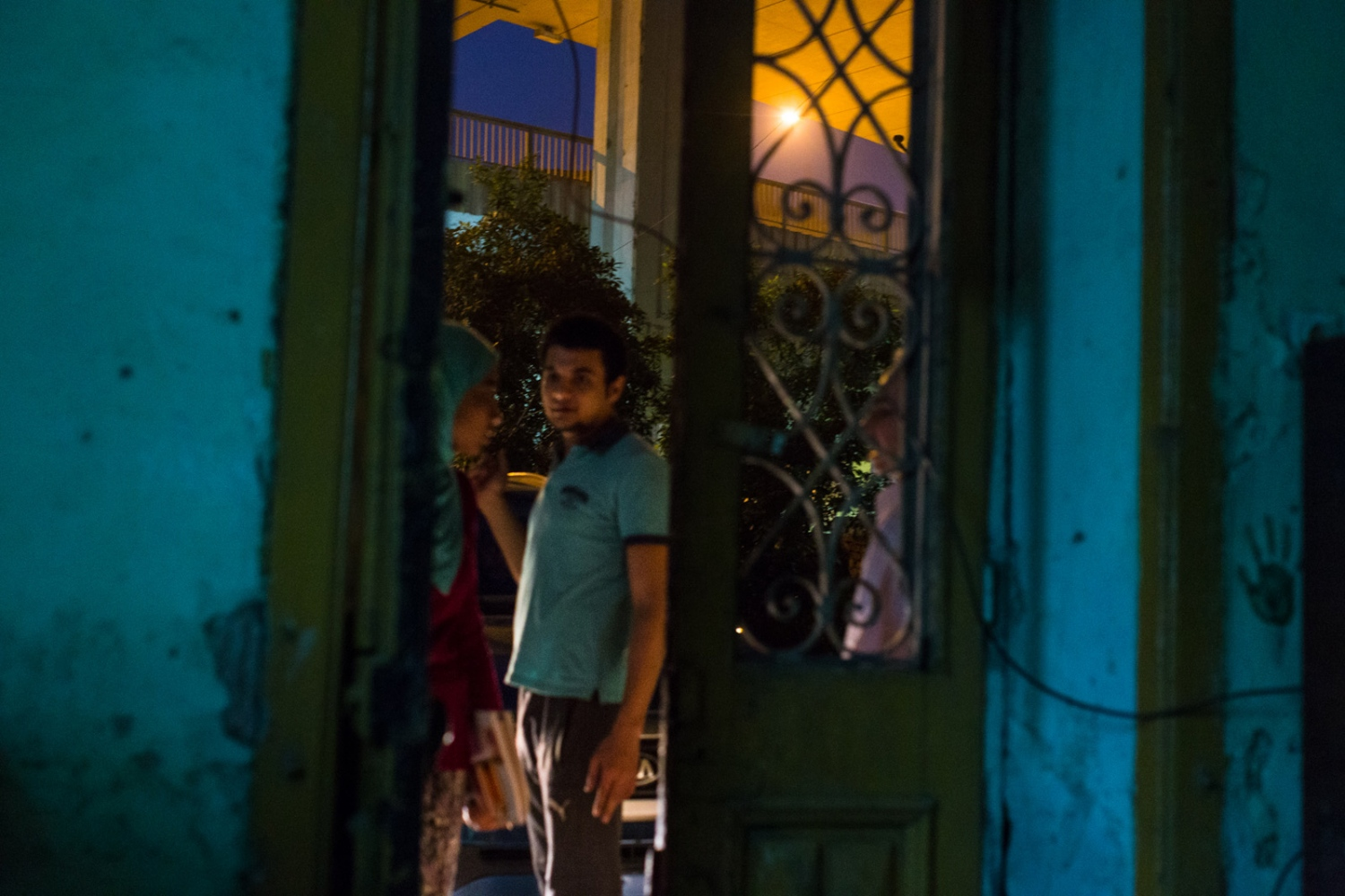 p.p1 {margin: 0.0px 0.0px 0.0px 0.0px; font: 10.0px 'Lucida Grande'} Mostafa sees the kids off as they leave his house after the lesson on Saturday night. Mish Madrasa is a grassroots volunteer group that provides tutoring and after school activities to poor children in Saft el Laban, a slum neighborhood of Cairo.