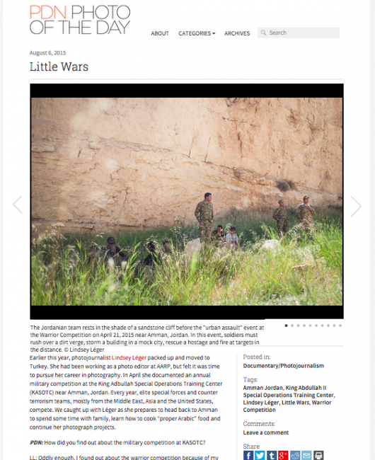 Photo District News (PDN) Feature