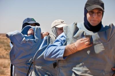 Women Deminers