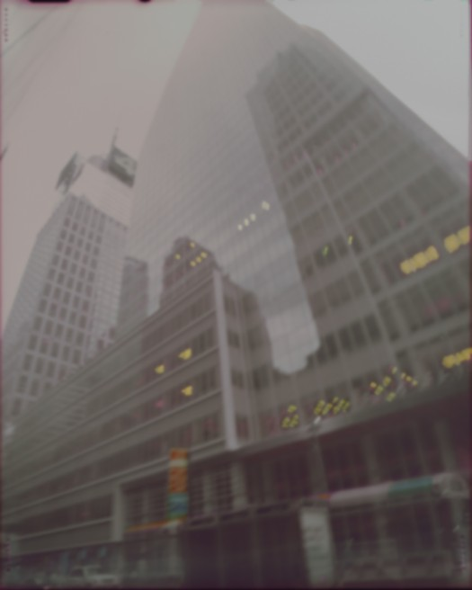 Bank of America Tower NYC Pinhole photo 2010