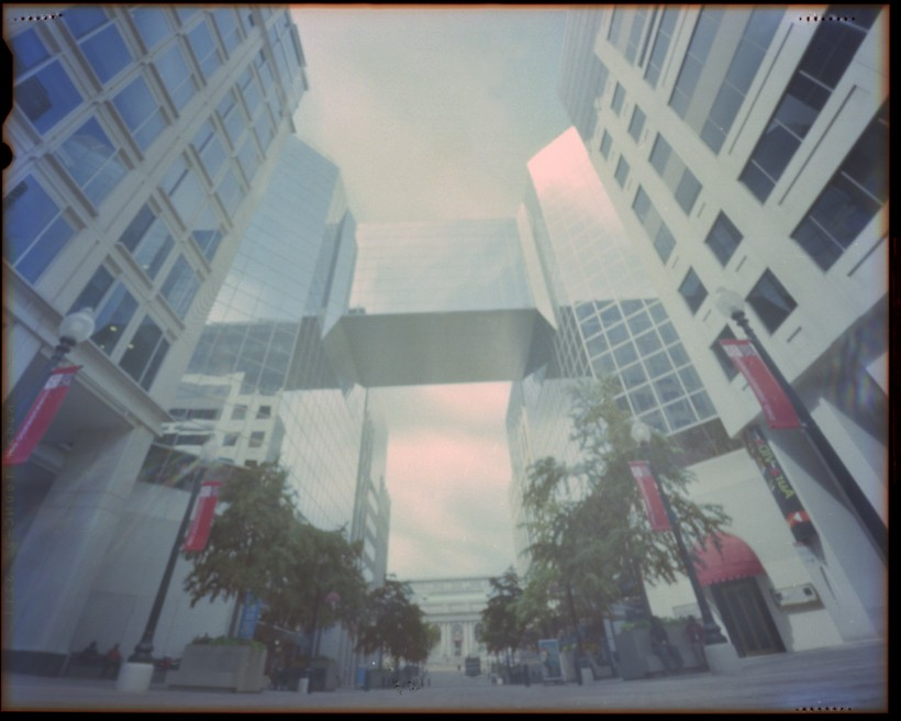 DC 8th Street Pinhole photo 2010