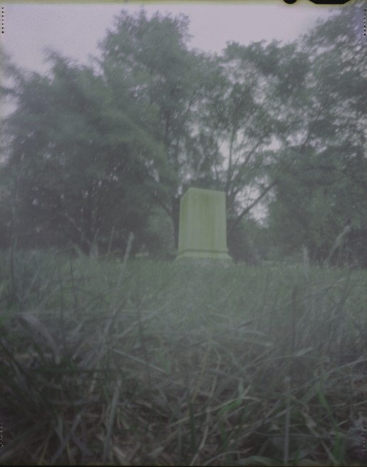 Mt Auburn Cemetery Pinhole photo 2010