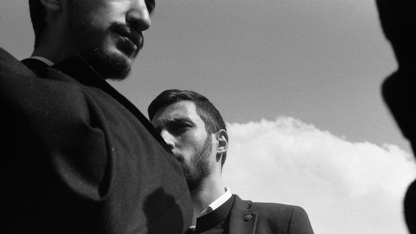 Priests at Echmiadzin