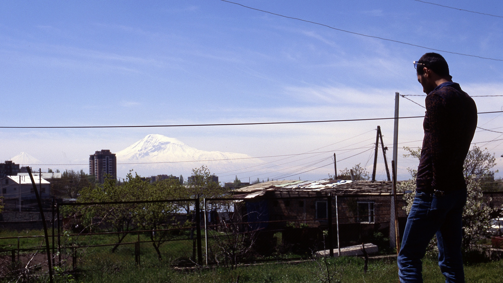Ararat from outer Yerevan