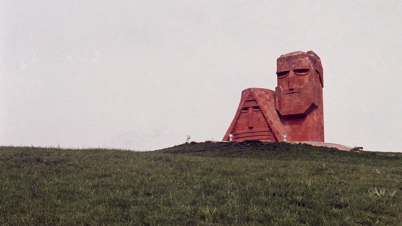 """We Are Our Mountains"" monument, Stepanakert"