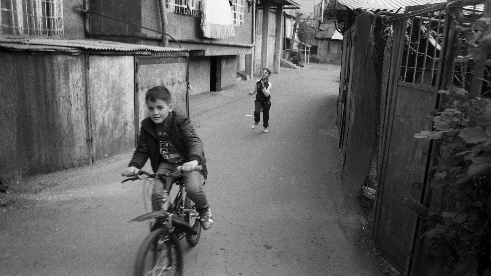 Yerevan street scene