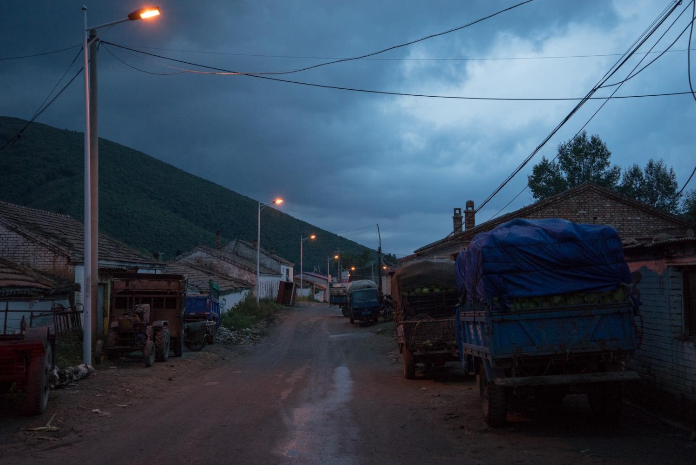 Taizicheng at night.