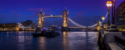 The Bridges of London  over the Thames