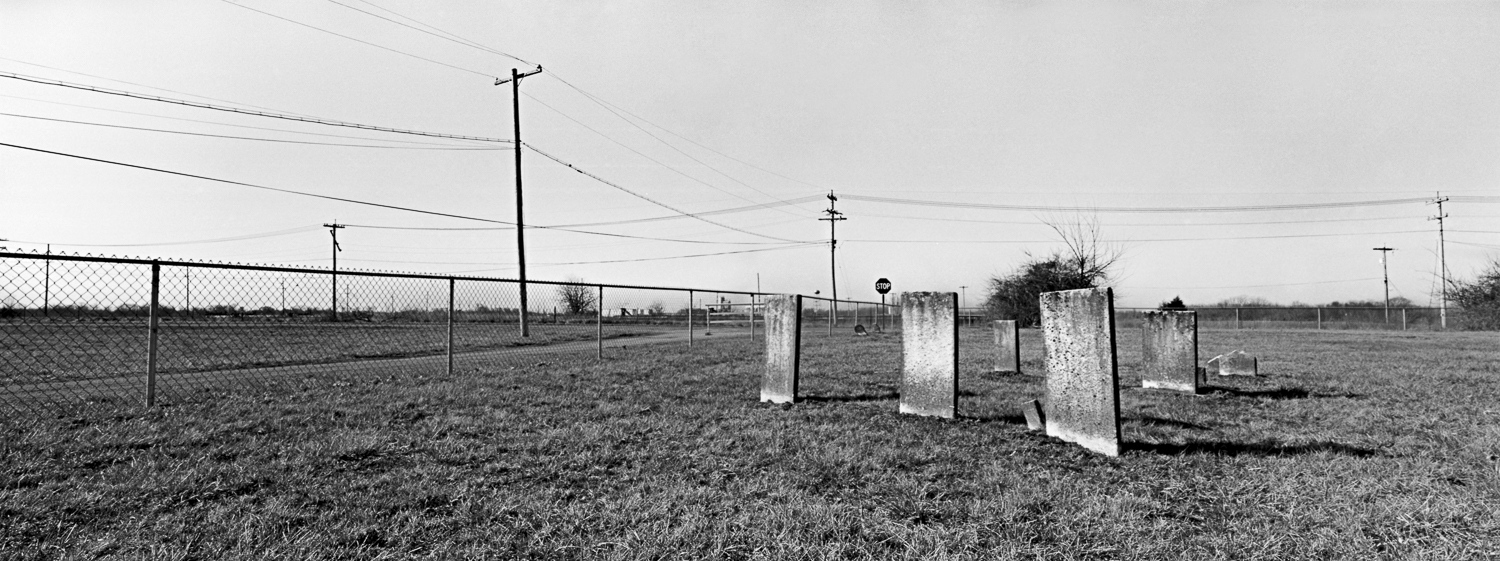 Union Cemetery Archival digital print 24 x 10  2013
