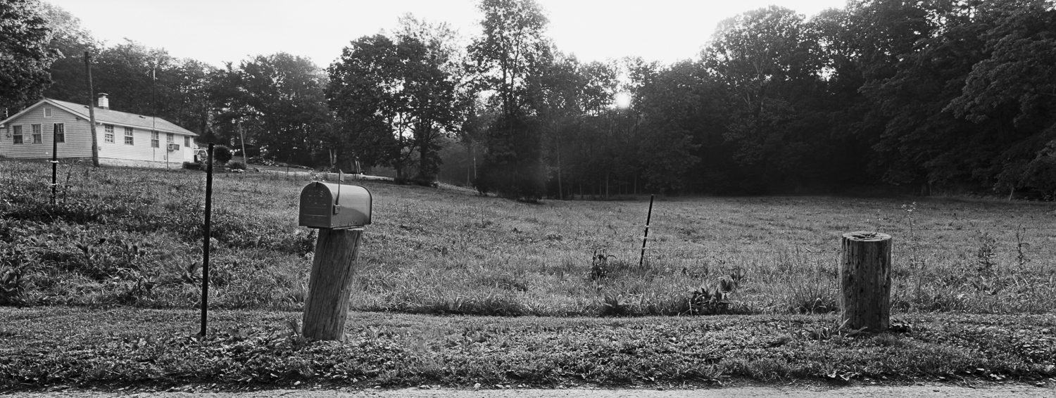 Mailboxes #3 Archival digital print 24 x 10 2013