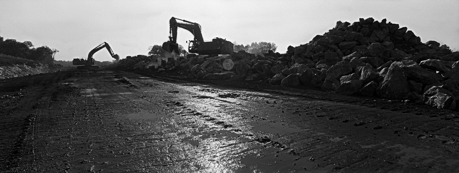 Construction Monsters Archival digital print 24 x 10 2014