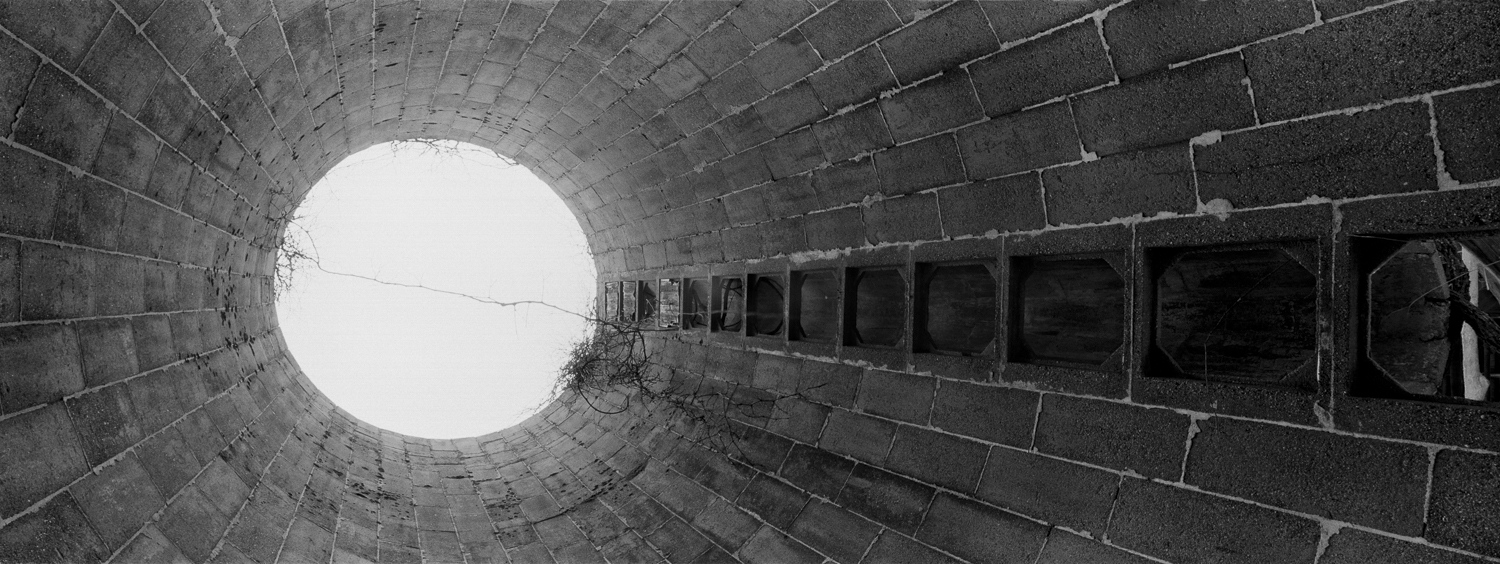 Silo Archival digital print 24 x 10 2012