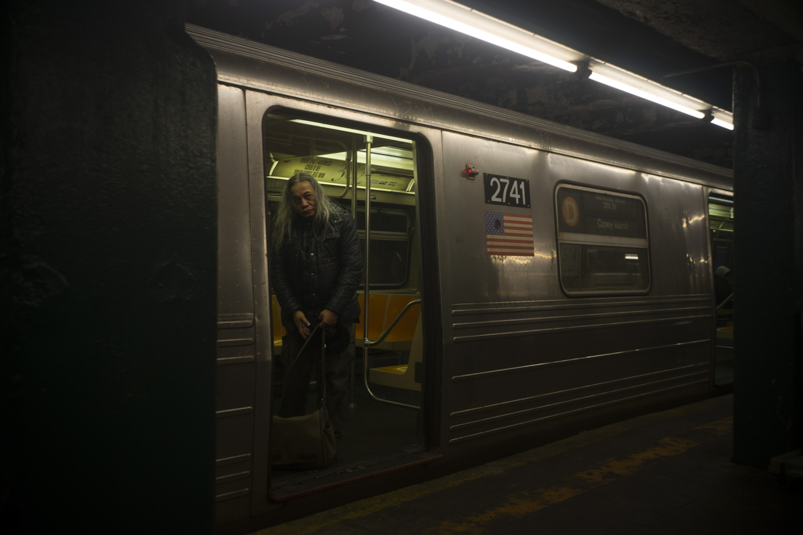 Lex spends every night riding on the subway. Every hour he switches trains. Lex is among 58,780 homeless people living in New York City.