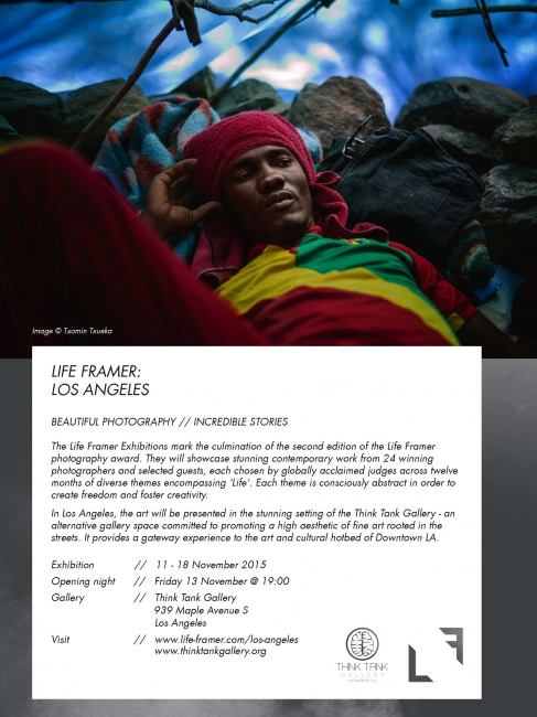"""Photography image - """"Gourougou"""" selected for the Photo Exhibition Life Framer in the Think Tank Gallery, Los Angeles, CA, USA."""