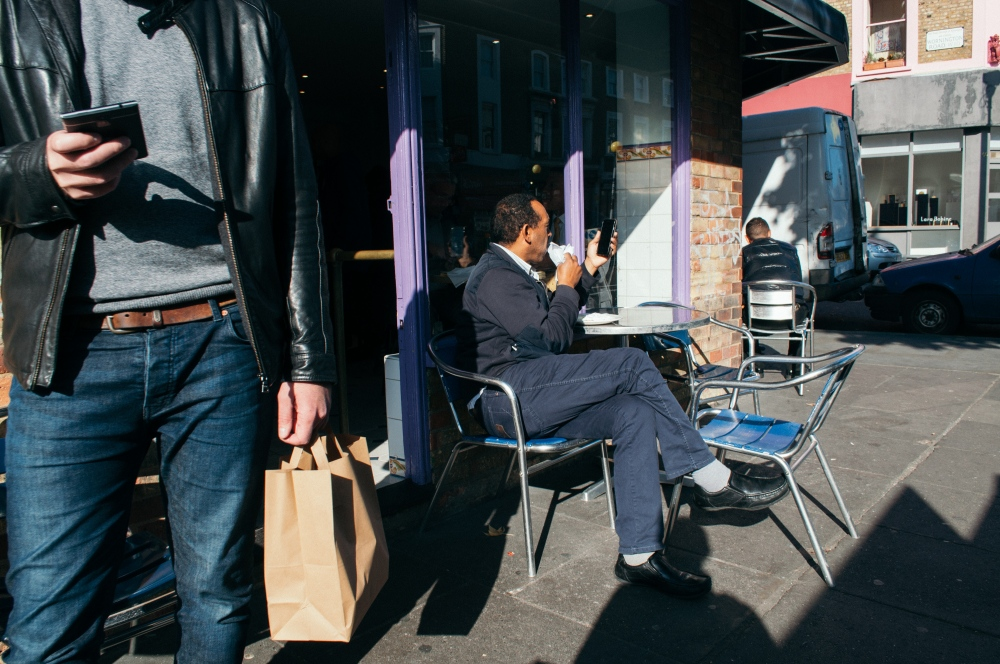 Photography image - Lunch break Golborne Road, London