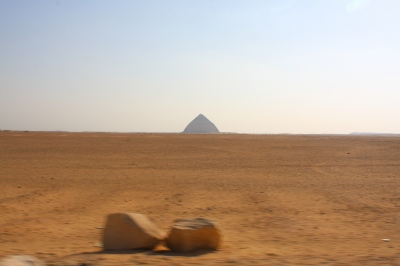 Black Pyramid, Giza, Egypt.