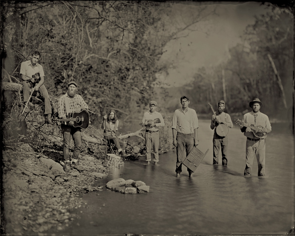 Hogslop String Band, Harpeth River, Tennessee, 2010