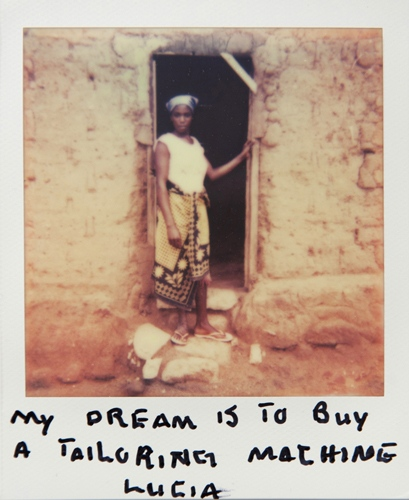 Photography image - Loading Teen_mothers_in_Tanzania_Polaroid_01.jpg