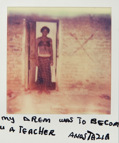 Art and Documentary Photography - Loading Teen_mothers_in_Tanzania_Polaroid_02.jpg