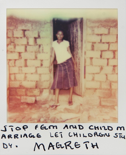Photography image - Loading Teen_mothers_in_Tanzania_Polaroid_05.jpg