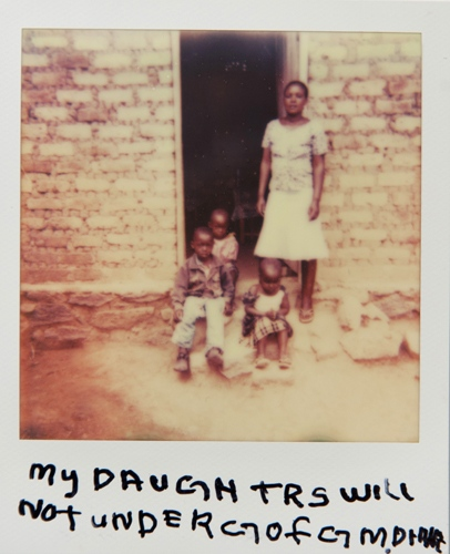 Art and Documentary Photography - Loading Teen_mothers_in_Tanzania_Polaroid_06.jpg