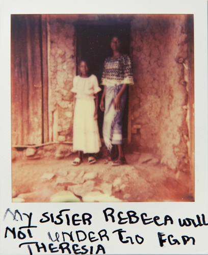 Art and Documentary Photography - Loading Teen_mothers_in_Tanzania_Polaroid_07.jpg
