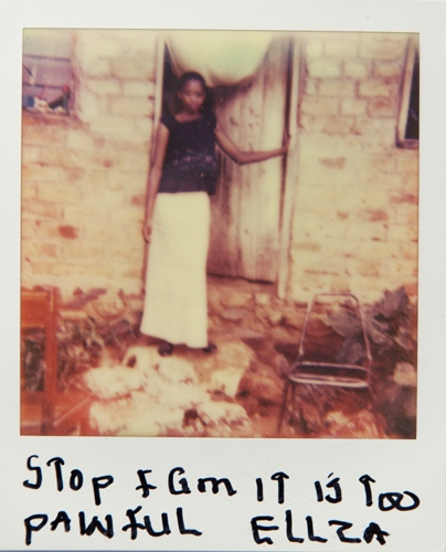 Photography image - Loading Teen_mothers_in_Tanzania_Polaroid_08.jpg