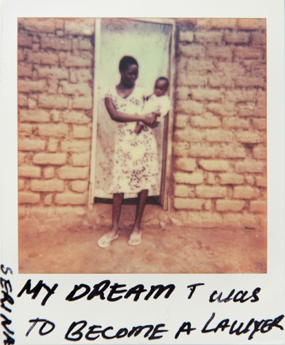 Art and Documentary Photography - Loading Teen_mothers_in_Tanzania_Polaroid_09.jpg