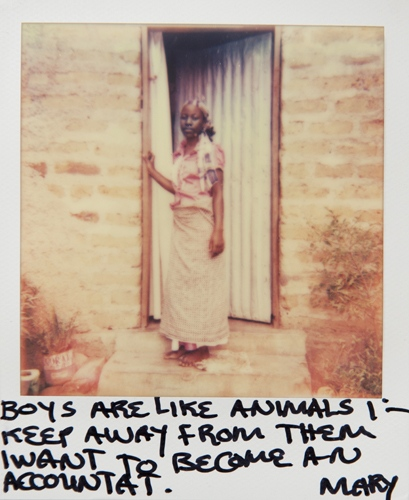 Art and Documentary Photography - Loading Teen_mothers_in_Tanzania_Polaroid_10.jpg
