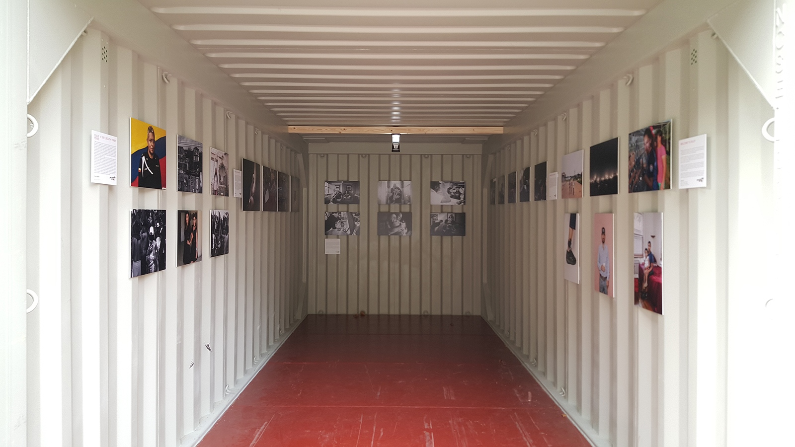 """Calle 4 Sur"", International Photo Festival Leiden , as part of Photoville's 20 Emerging American Photographers Exhibition."