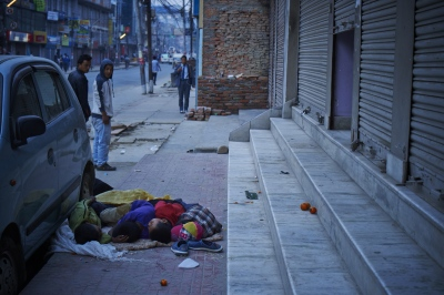 Children sleeping on the streets are a common sight, but it is actually dangerous.
