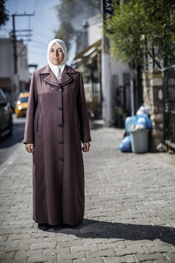 Name: Dania Kanakri Age:37 Profession : stay at home mom From: al-Zabadani, Syria On her way to:Germany 1) For how long have you been traveling and what route? -We fled one week ago. First to Libanon and then to Turkey. 2) Tell us about your situation. -We escaped the war, both you and the entire world knows that. We don't want to live in a war right know and the rest of the world must acknowledge that. 3) what do you need right now? A secure living situation.