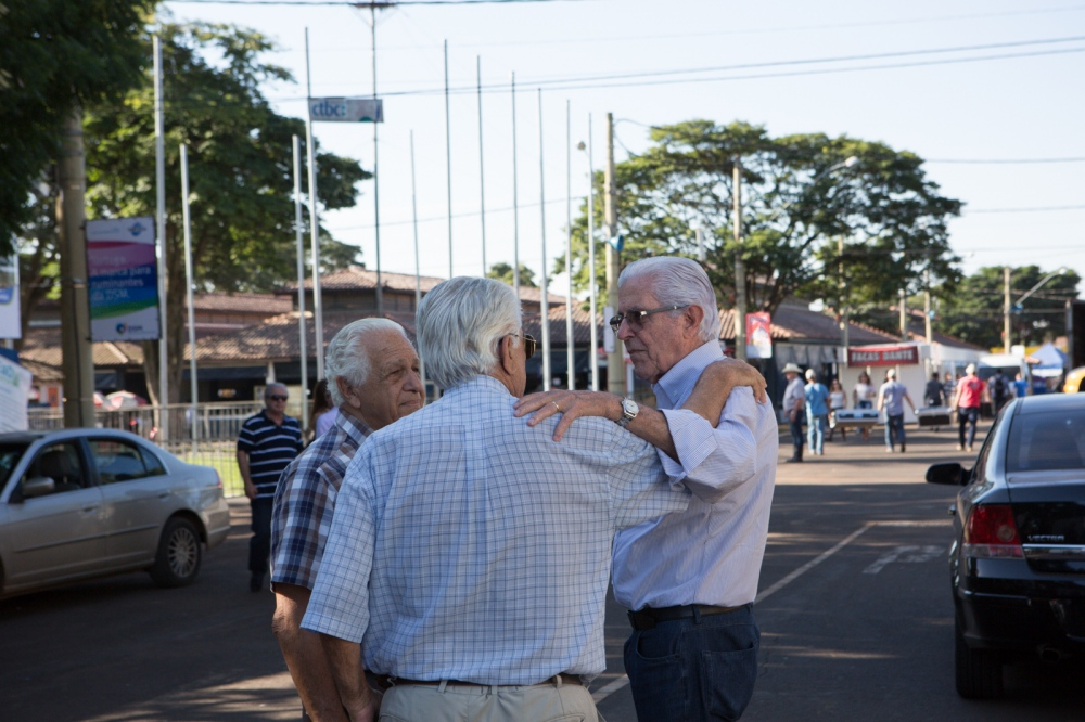 Farmers and cattle breeders during the Expozebu Fair. Uberaba, Minas Gerais, Brazil, 2013