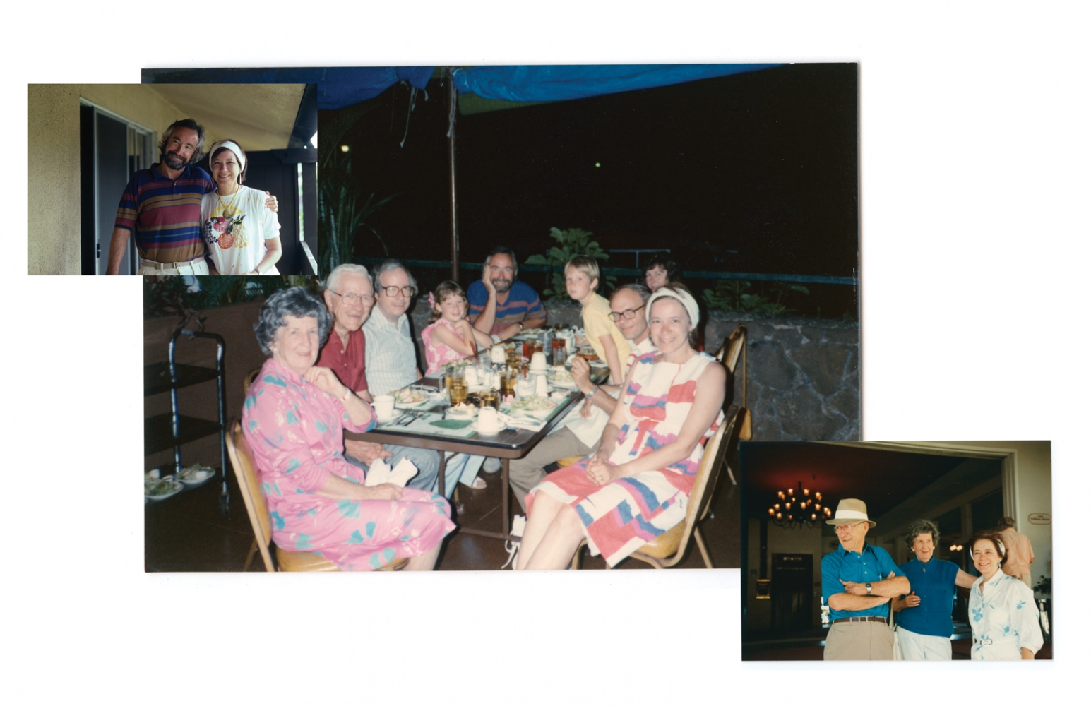 Nell and Paul's 50th wedding anniversary, Hawaii