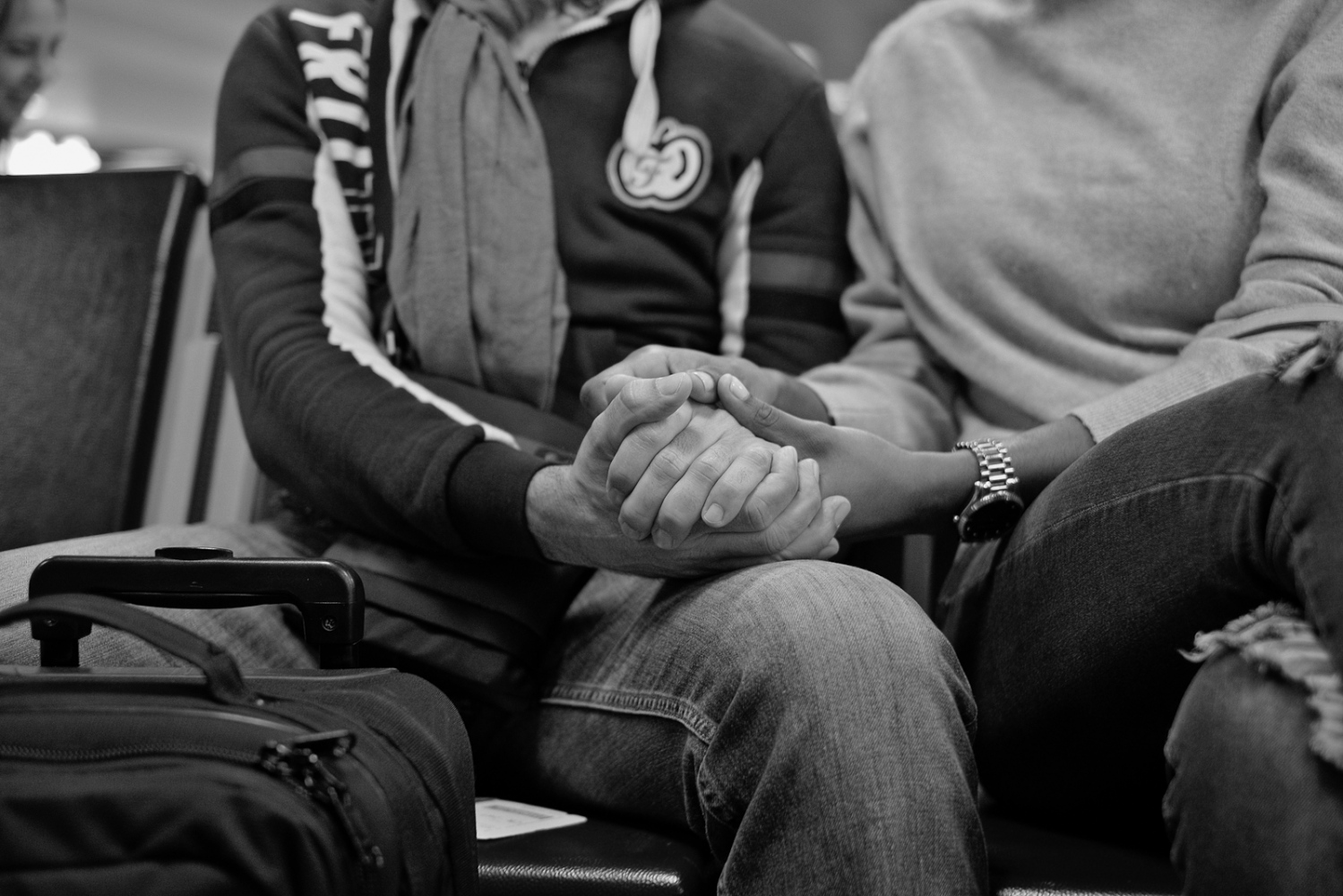 Hopes. At the airport, in Santo Domingo, a young couple sat in front me, they clear appear in love, just what I am expecting in my reencounter with Martha, my wife in Argentina.
