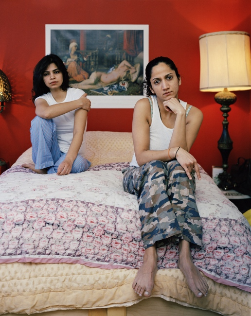 Photography image - Loading (Zein_and_Maha_on_their_bed).jpg
