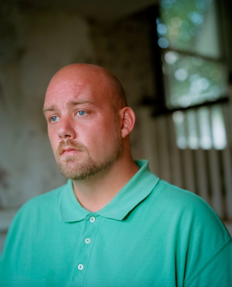 Marvin, 33, recovering heroin addict. Until May of 2015, he was living in an abandoned house in Portsmouth, Ohio. He is currently receiving medication-assisted treatment and participates in a daily support group session at SOLACE, a local treatment and support center for recovering addicts.