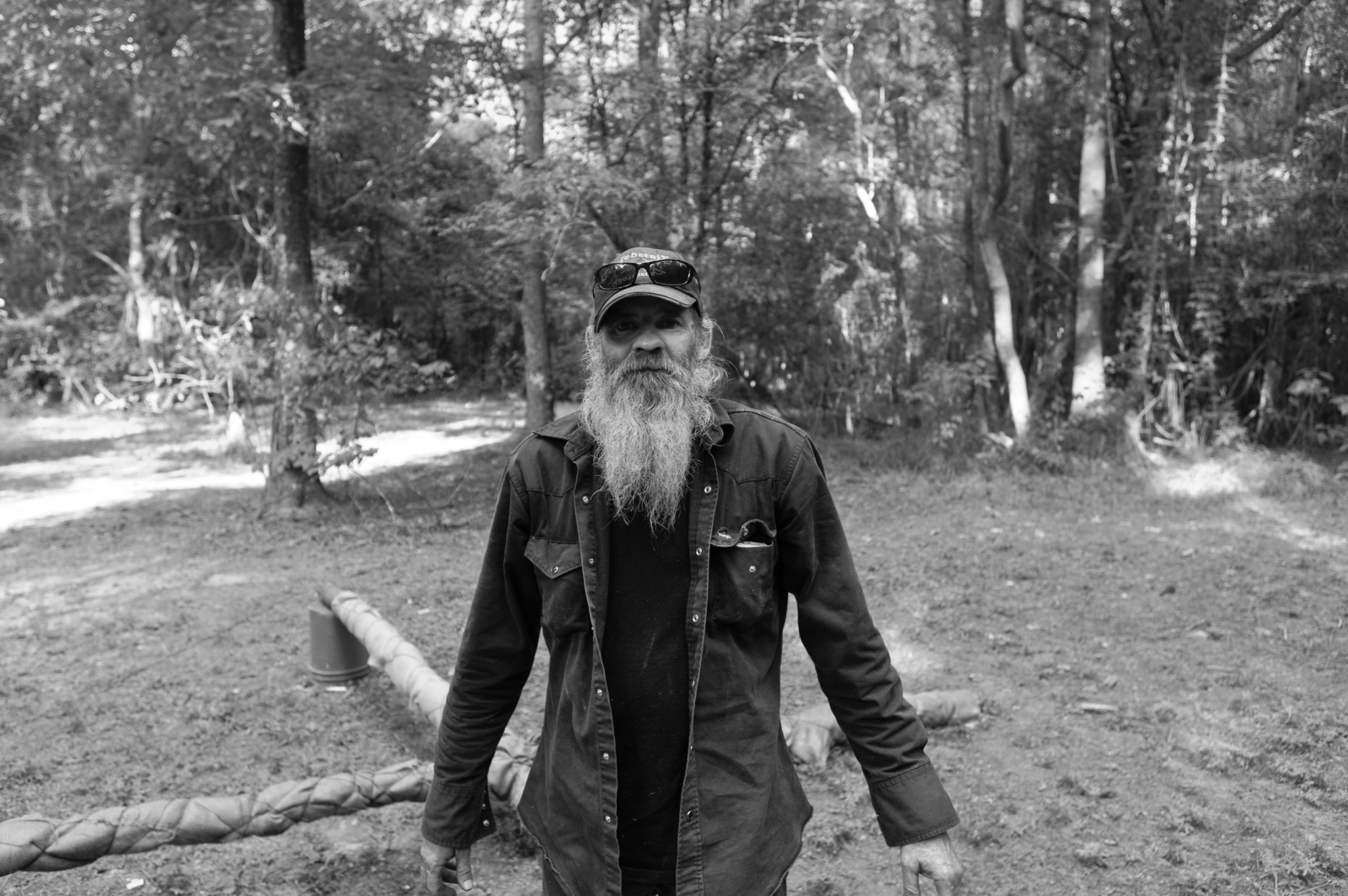 Baton Rogue, Louisiana.A since retired Imperial Wizard of a southen-based Klan realm.