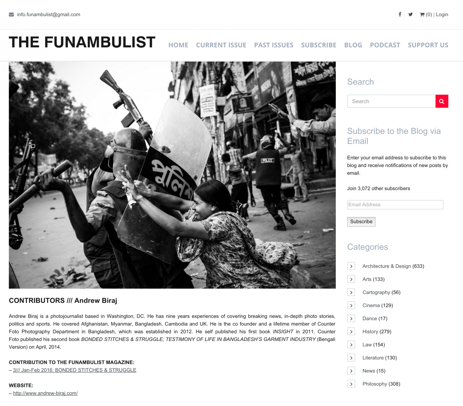 Art and Documentary Photography - Loading FUNAMBULIST_.png