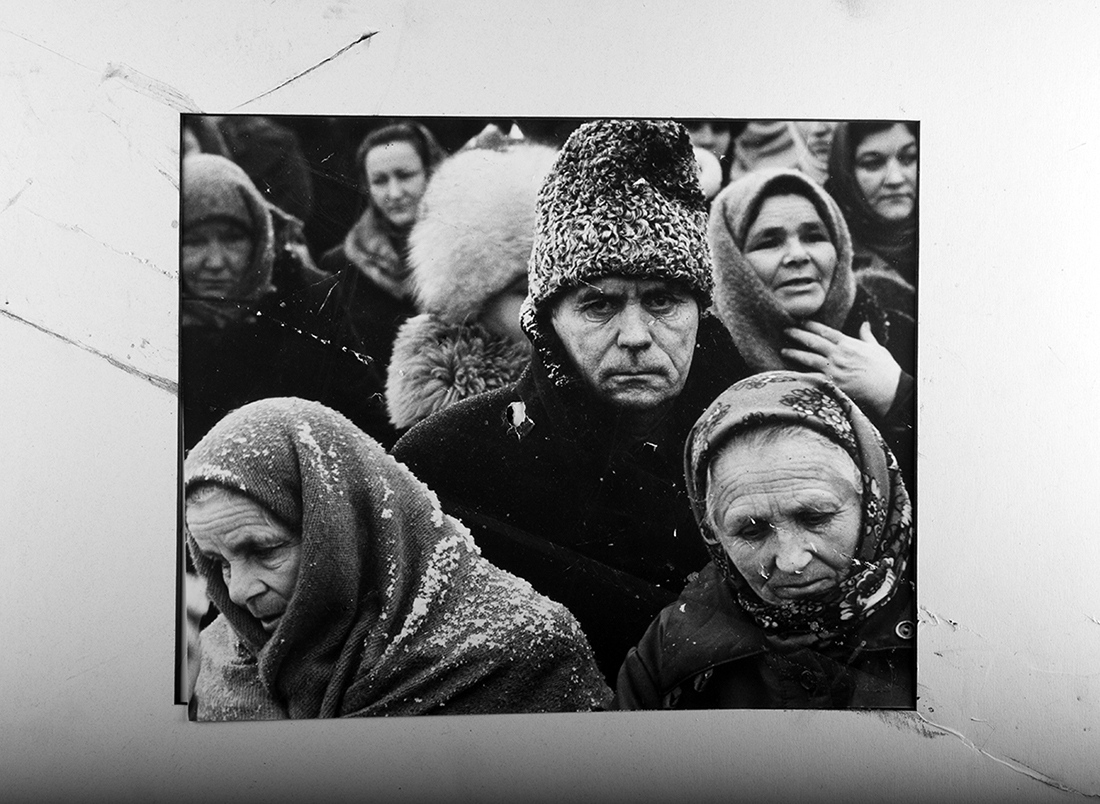 In August 1999, I spent a month in Moldova teaching photojournalism and newspaper design to the emerging independent media. I ended up teaching Photoshop techniques more than anything. I bought prints from photographers I connected with, I figured those photographers could use the money as much as my advice.