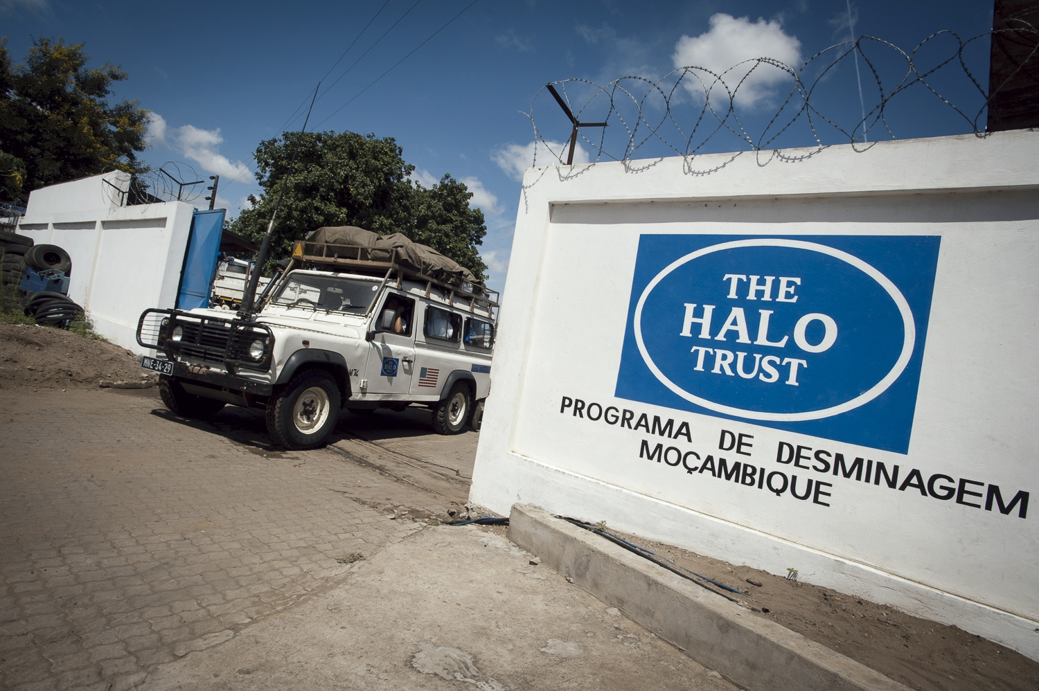 Deployment day. HALO Deminers leave Zimpeto compound in Maputo to travel to their minefields. They will not return for 21 days. Living and working at the minefield.