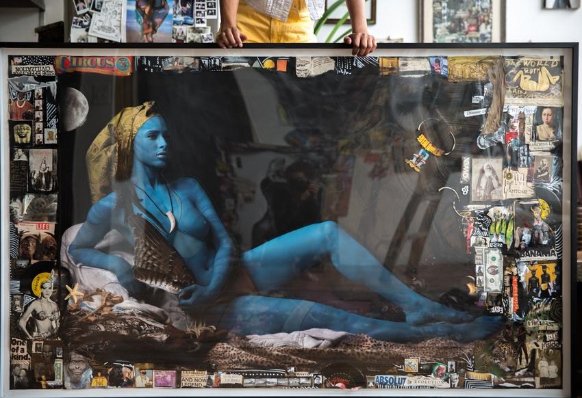 """Avatar"" 60x75 inch 40000$"