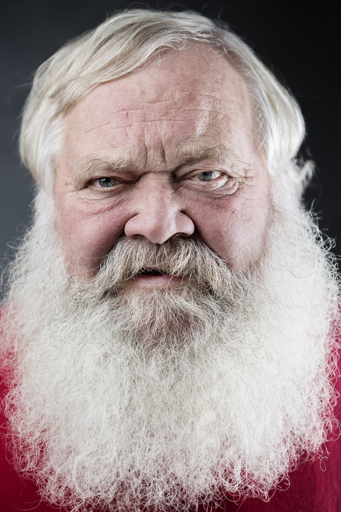 Pat Petty from Franklin, Tennesse have worked as a santa for 26 years